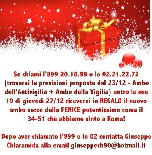 L&L Premium del 24-25-26-27/12: AMBO SECCO MILIONARIO A COLPO 5-25 SU GE! 27dece10