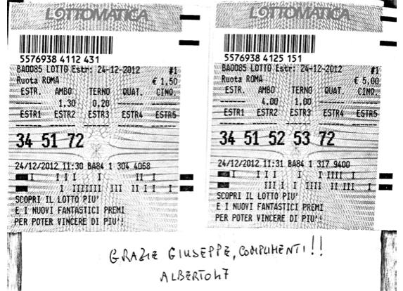 GChiaramida: TERNO SECCO MILIONARIO 17-28-45 SU TUTTE- ESTRATTO DETERMINATO 62 SU CA 3545110