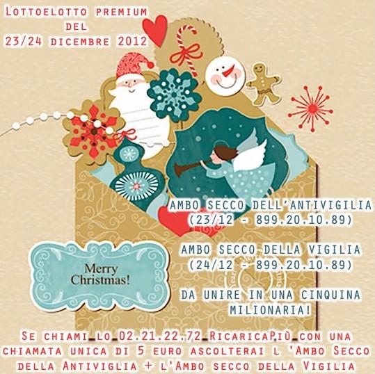 L&L Premium del 24-25-26-27/12: AMBO SECCO MILIONARIO A COLPO 5-25 SU GE! Antivi11