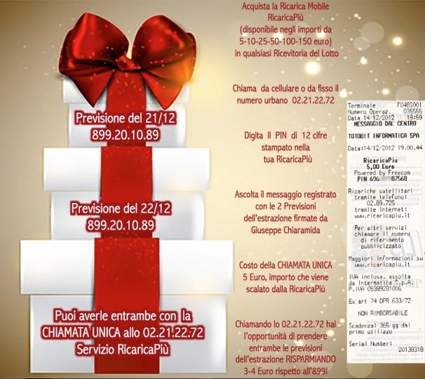 L&L Premium del 24-25-26-27/12: AMBO SECCO MILIONARIO A COLPO 5-25 SU GE! Ricade10