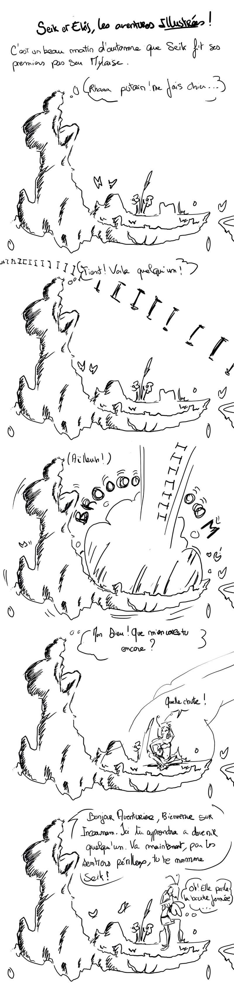 seik et ekis, les aventures ILLUSTREES - Page 5 Strip110