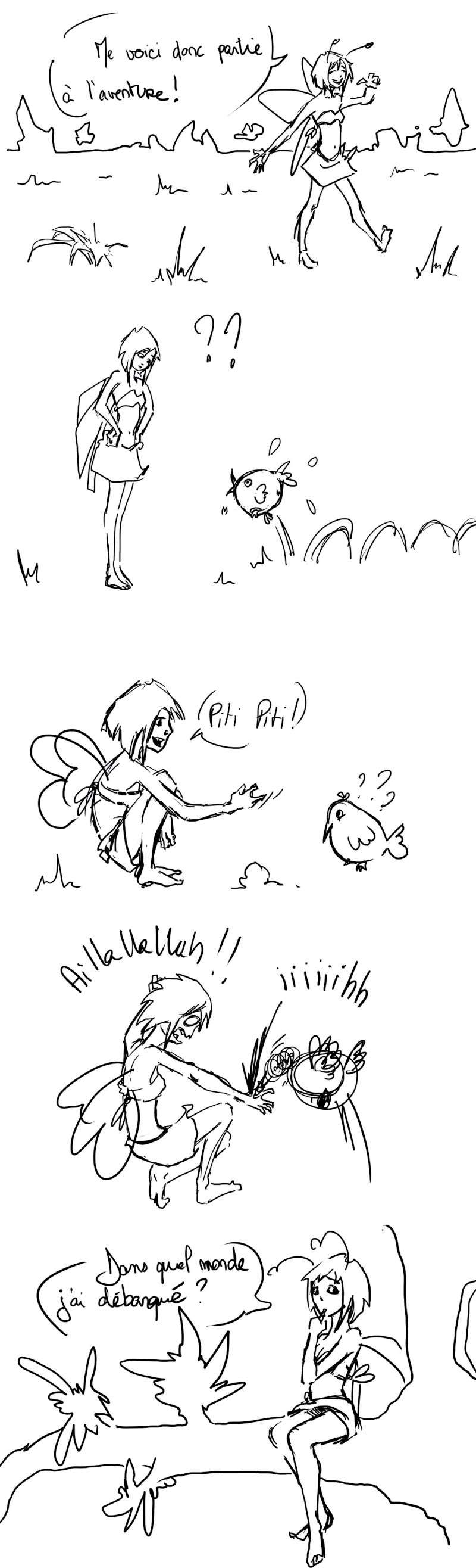 seik et ekis, les aventures ILLUSTREES - Page 5 Strip210