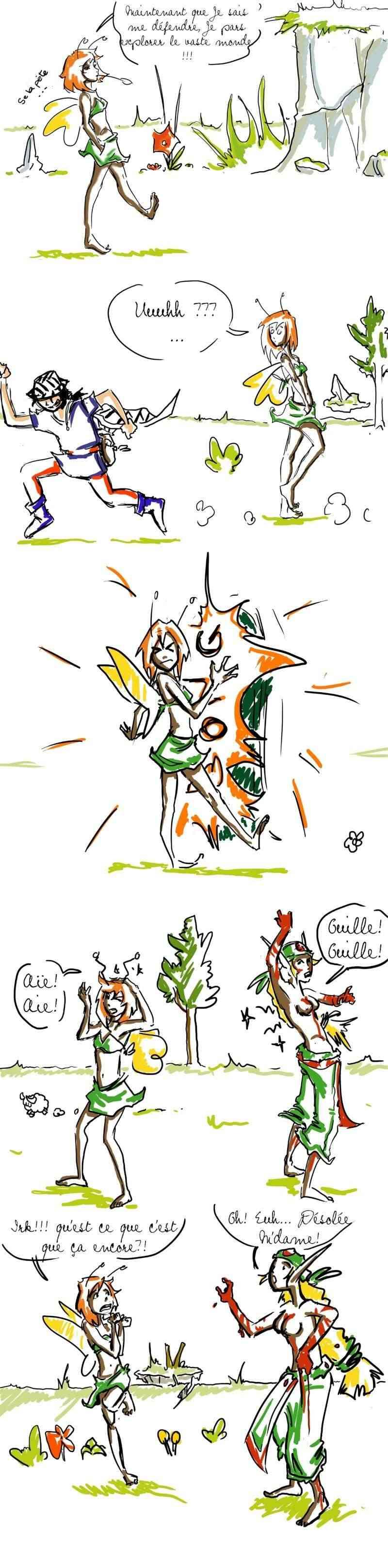 seik et ekis, les aventures ILLUSTREES - Page 5 Strip611