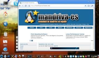 Google chrome beta para Mandriva Linux Crhome11