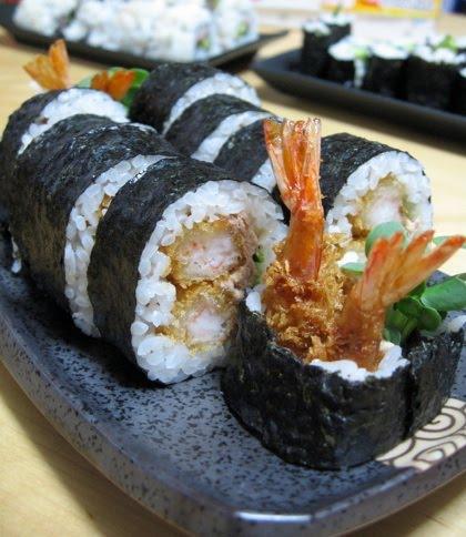 Futomaki aux crevettes panées Futoma10
