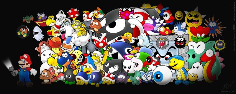 les origines de Mario Mario-10