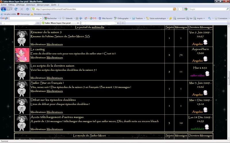 [05/01/2010] Nouvelle version du forum Versio11