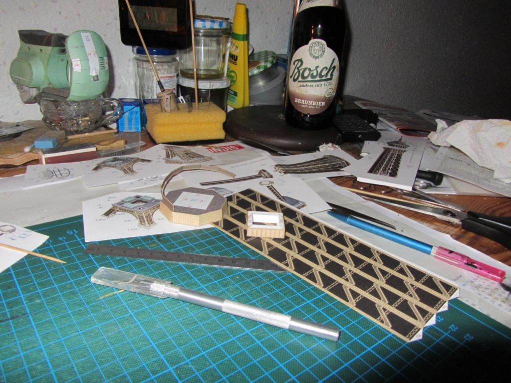 Der Eiffelturm 1:300 gebaut von XEDOS - Seite 2 Img_8139