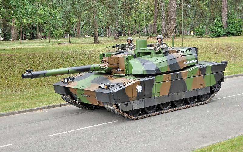 Leclerc 1/35 TAMIYA Lecler10