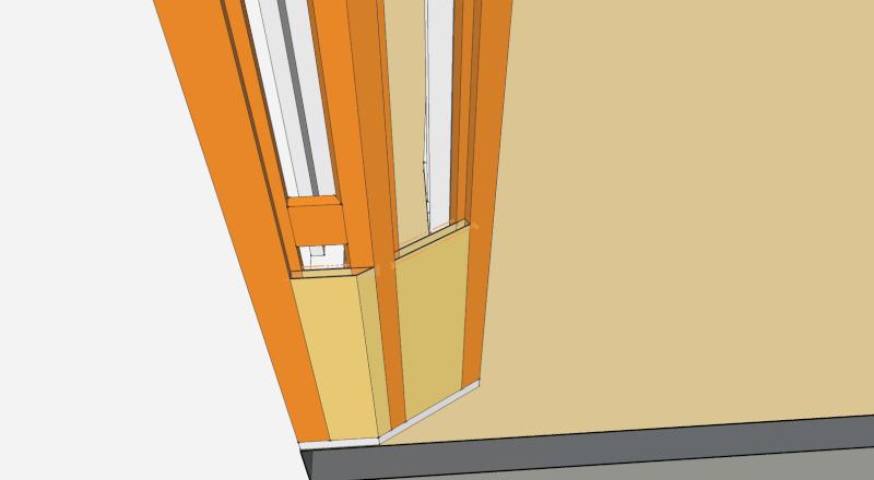 Question N°2 : les ouvertures dans l'ossature Coffra11
