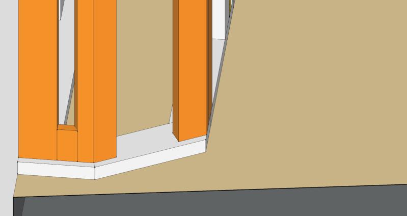 Question N°2 : les ouvertures dans l'ossature Coffra12