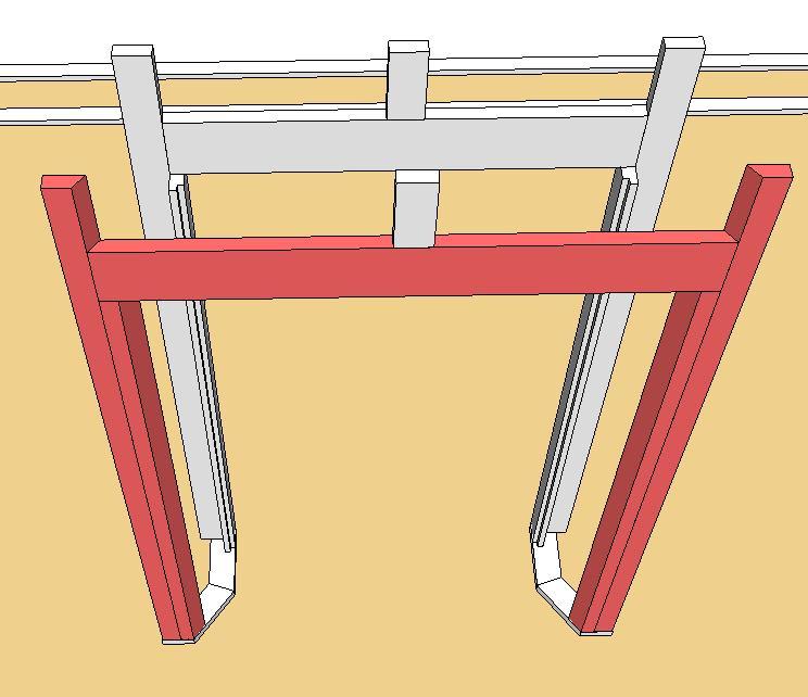 Question N°2 : les ouvertures dans l'ossature Embras10