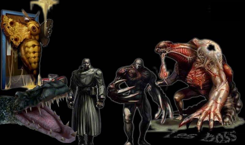Resident Evil 2 (Ps1) Boss111