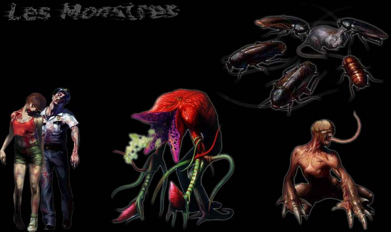 Resident Evil 2 (Ps1) Monstr10