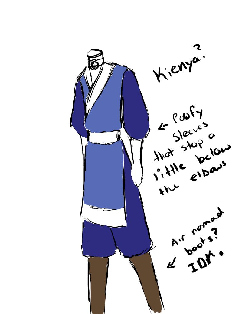 Kienya's Water Tribe and Airbender outfits. - Page 4 Kienya10