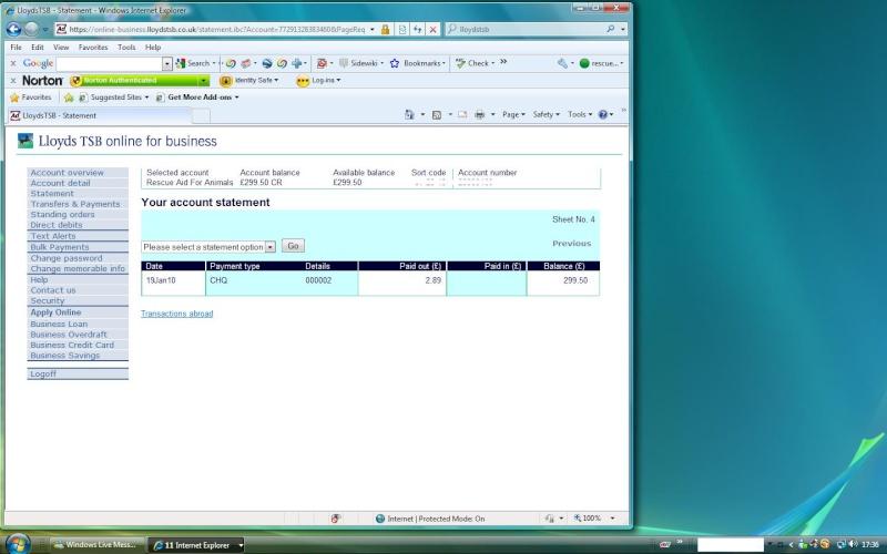 RAFA Bank Account Rafa_b15