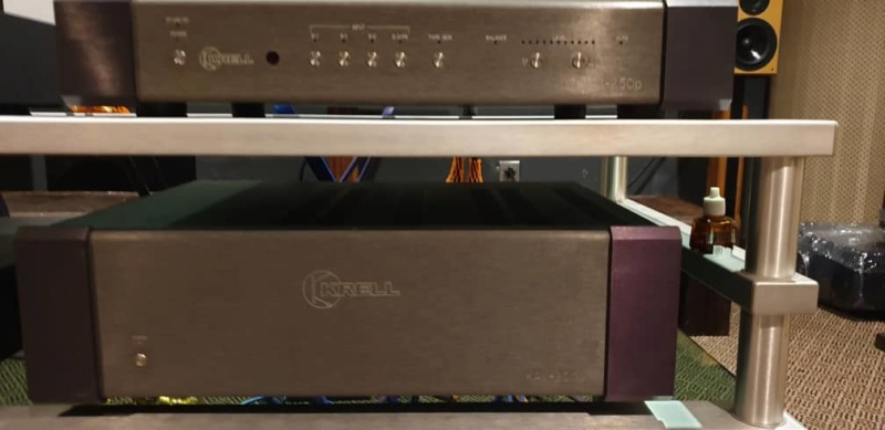 Krell Pre and Amp 2ch & 3ch (USED) Krell10