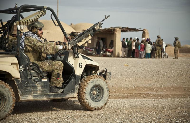 Vehicule leger des fs américain en Afgha 1310