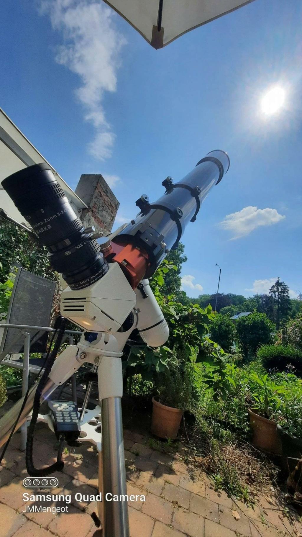 Eclipse partielle du Soleil de ce 10 juin 2021. 20001410