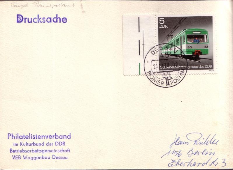 Schöne Briefe und Belege der DDR 510