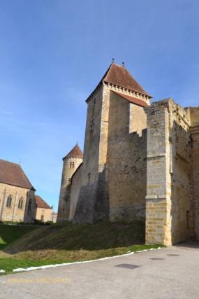 Blandy les Tours – Le château 04-02-12