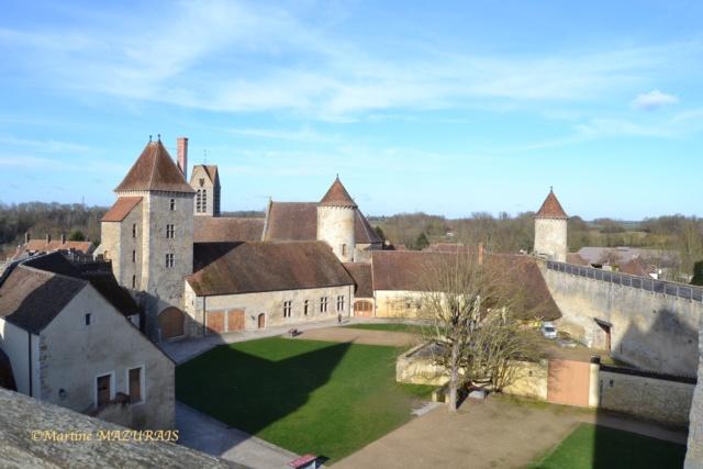 Blandy les Tours – Le château 04-02-23