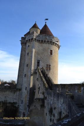 Blandy les Tours – Le château 04-02-26