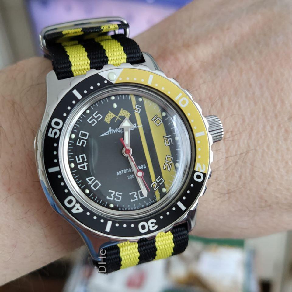 Vos montres russes customisées/modifiées - Page 11 Vostok10