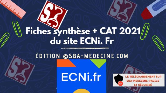 [résolu][ecn-fiche]:Fiches synthèse + CAT  du site ecni.fr 2021 pdf gratuit - Page 6 20210110