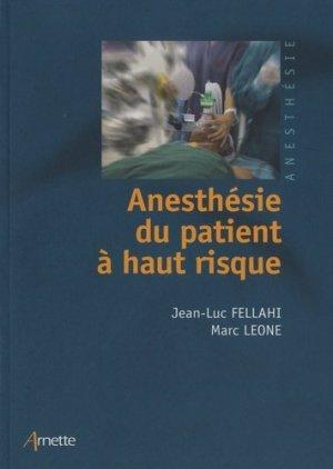 [Anesthésie]:Anesthésie du patient à haut risque pdf gratuit  97827112