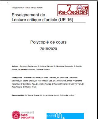 [LCA]:polycopie de cours LCA 2020 université Paris Descarte pdf gratuit Captur13