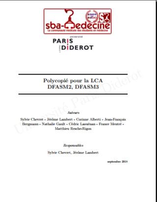 [LCA]:polycopiés LCA université PARIS DIDEROT pdf gratuit Captur14