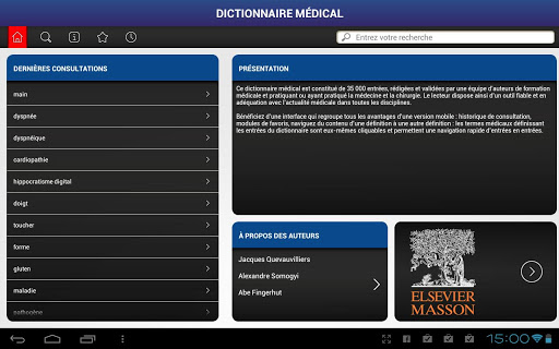 Dictionnaire médical elsevier masson APK gratuit - Page 4 Vkx8710