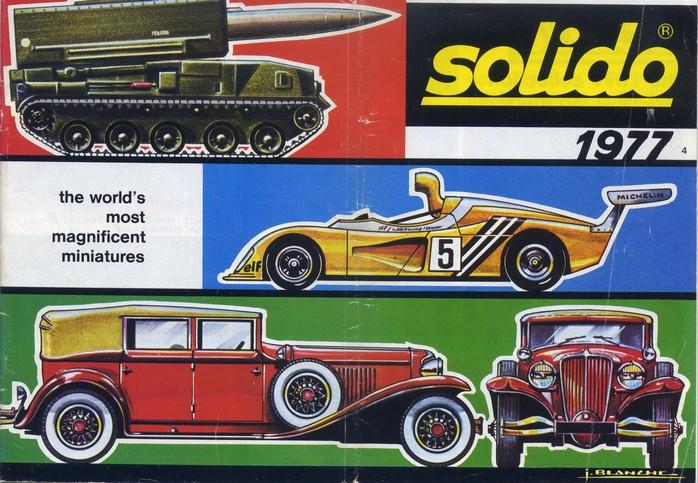 Solido - Catalogue 1977 - Export File0110
