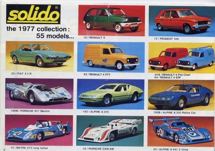 Solido - Catalogue 1977 - Export File0111