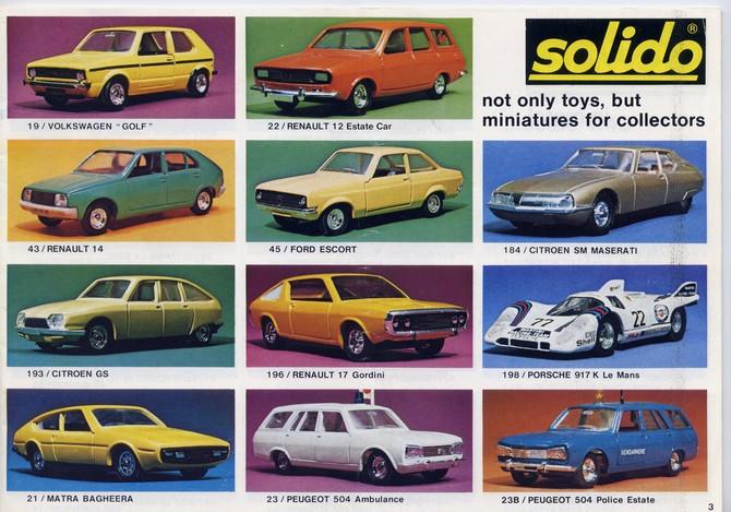 Solido - Catalogue 1977 - Export File0112
