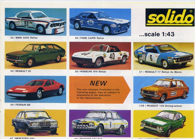 Solido - Catalogue 1977 - Export File0114