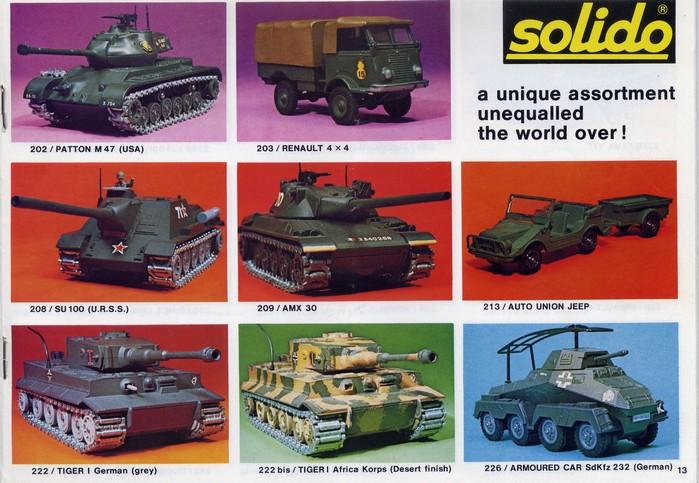 Solido - Catalogue 1977 - Export File0122