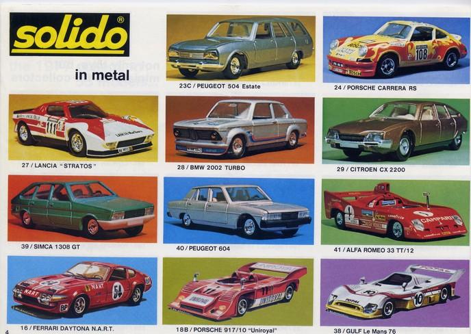 Solido - Catalogue 1977 - Export File0134