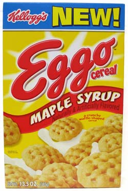FAVORITE CEREALS? (you can have more than one) Eggoce10