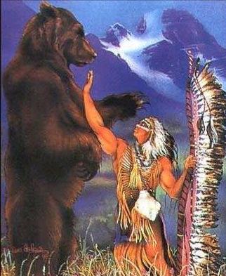 Légende amérindienne au sujet de l'Ours Ours_n10