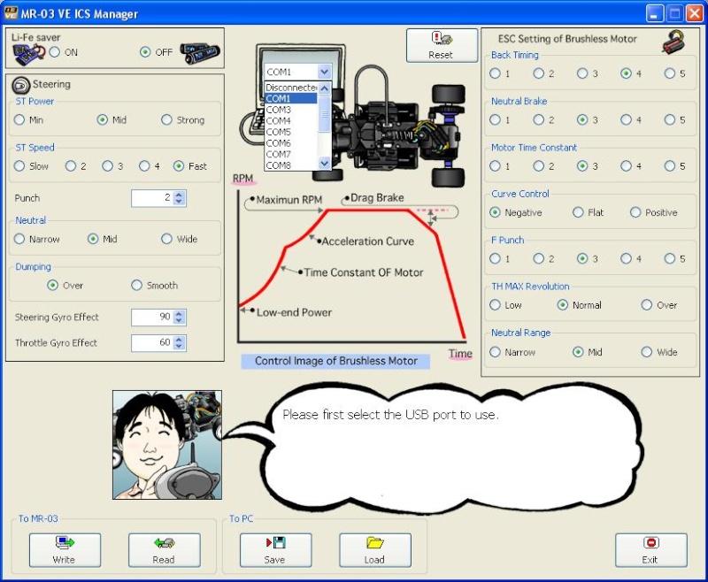 Câble ICS Perso pour MR02ASF MR03 Mr03VE Mr03ve12