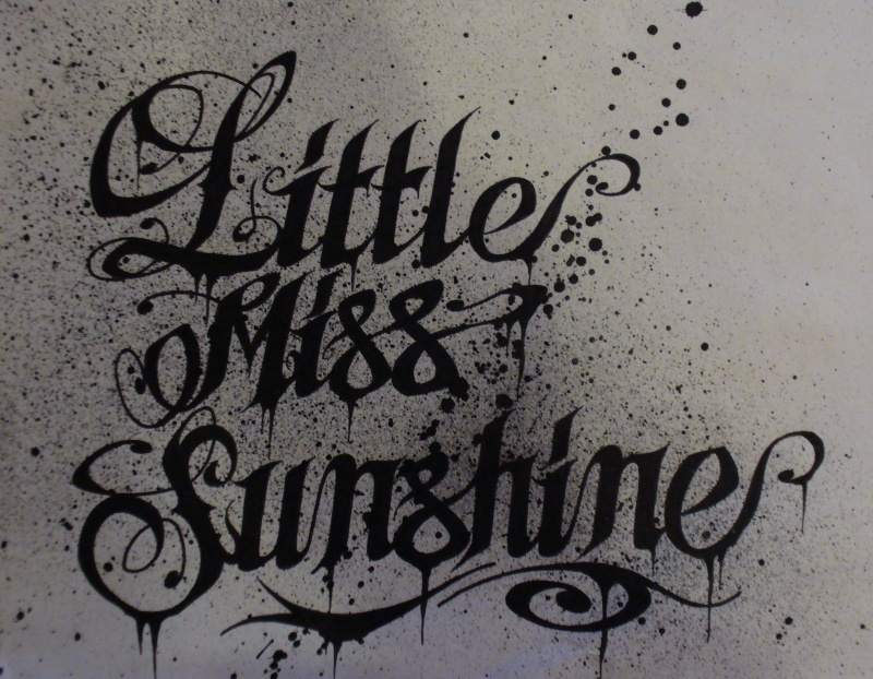 """Little Miss Sunshine"" Lms10"