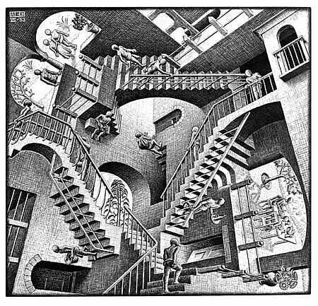 Illusions d'optiques Escher10