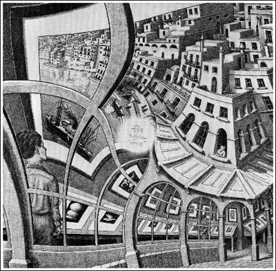 Illusions d'optiques Escher11