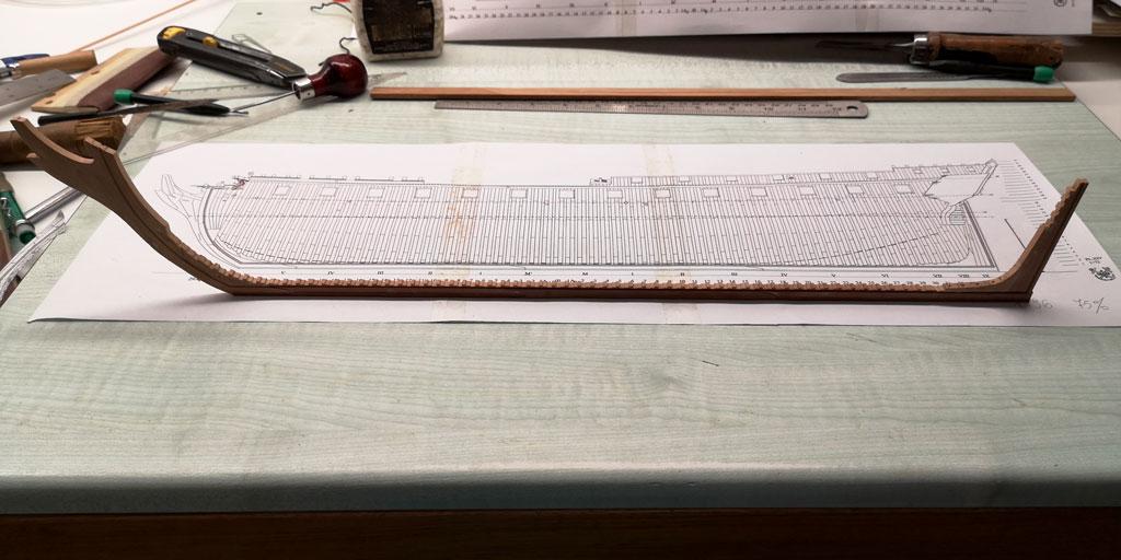 La Venus scala 1:96 di Gianpiero 00612