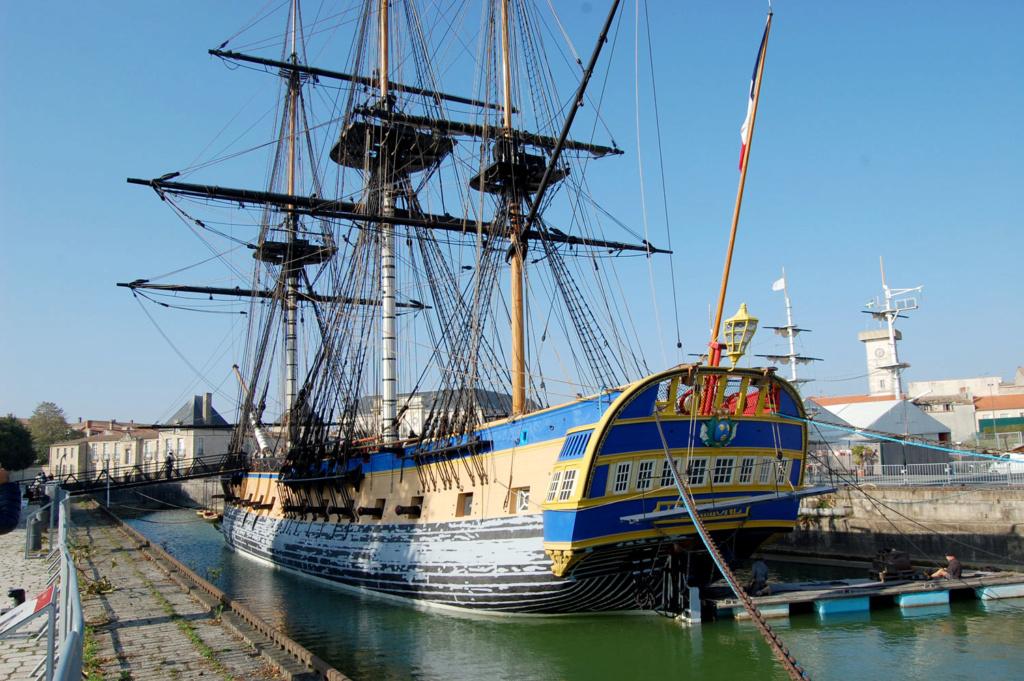1° Congresso Internazionale di Modellismo Navale a Rochefort Hermio14