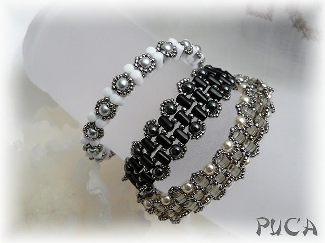 """Bracelet """"Lee"""" avec les Rulla Trio10"""