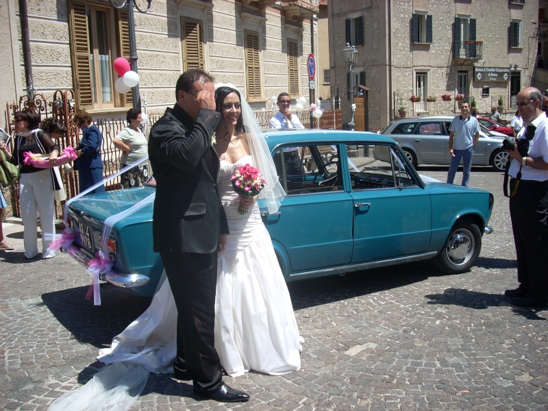 Foto della mia 124 con la sposa Dscn0314