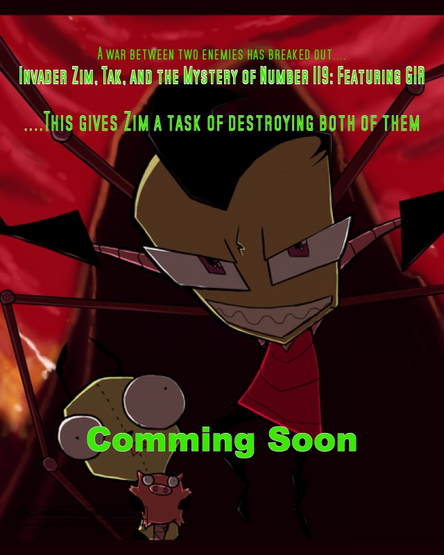 Invader Zim, Tak, and The Mysterious Number 119: Featuring GIR Invade10